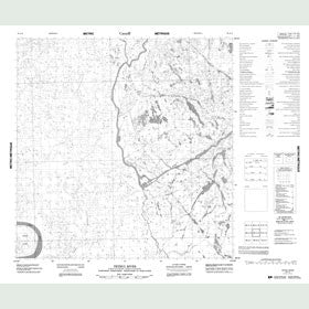 Canadian Topo Map - Tethul River - Map 085A09
