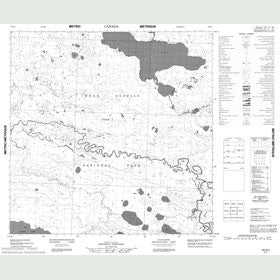 Canadian Topo Map - Map 085B02