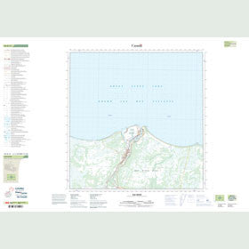 Canadian Topo Map - Hay River - Map 085B13