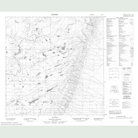 Canadian Topo Map - Map 085C03