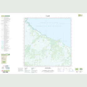 Canadian Topo Map - McNallie Creek - Map 085C16