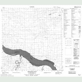 Canadian Topo Map - Browning Point - Map 085E05