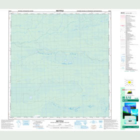 Canadian Topo Map - Map 085E12