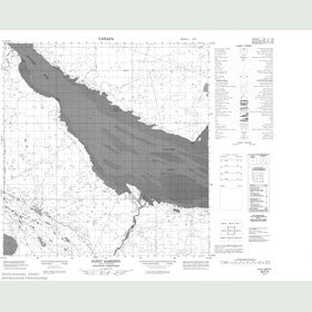 Canadian Topo Map - Point Sarristo - Map 085F03
