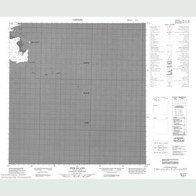 Canadian Topo Map - Web Island - Map 085G04