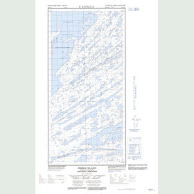 Canadian Topo Map - Preble Island - Map 085H09E