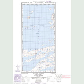 Canadian Topo Map - Wilson Island - Map 085H15W
