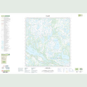 Canadian Topo Map - Prelude Lake - Map 085I12