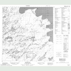 Canadian Topo Map - McIver Bay - Map 085J03