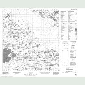 Canadian Topo Map - Map 085K01
