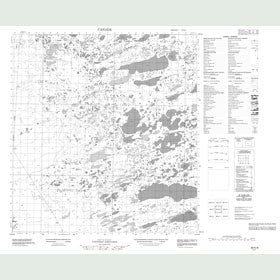 Canadian Topo Map - Map 085K08