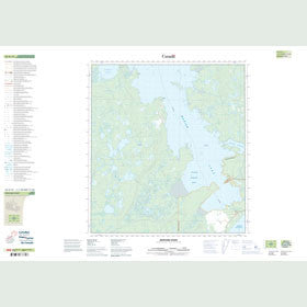 Canadian Topo Map - Bedford Point - Map 085K16