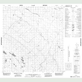 Canadian Topo Map - Map 085L07