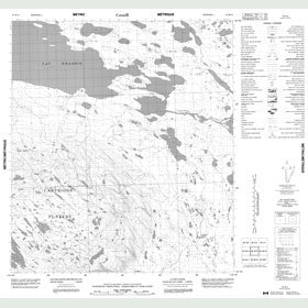 Canadian Topo Map - Map 085M15