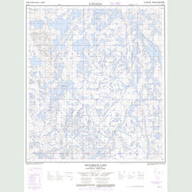 Canadian Topo Map - Ketcheson Lake - Map 085N15