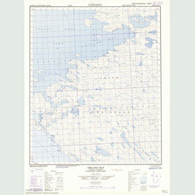 Canadian Topo Map - Neiland Bay - Map 086E12