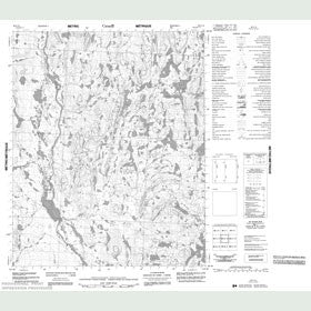 Canadian Topo Map - Map 086G16