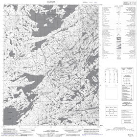 Canadian Topo Map - Map 086I15
