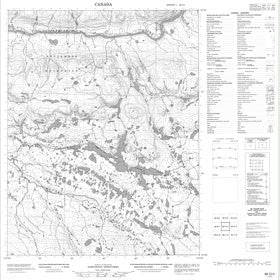 Canadian Topo Map - Map 086O04