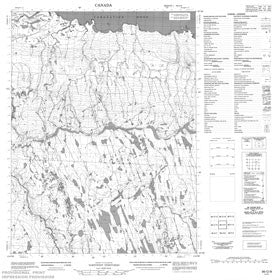 Canadian Topo Map - Map 086O09