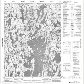 Canadian Topo Map - Map 086P06