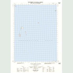 Canadian Topo Map - Black Berry Islands - Map 087A02W