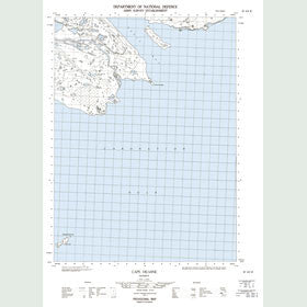Canadian Topo Map - Cape Hearne - Map 087A03W