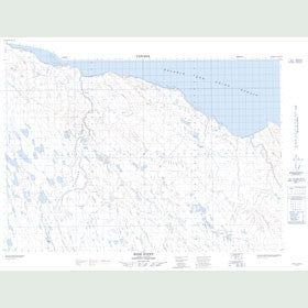 Canadian Topo Map - Wise Point - Map 087B15