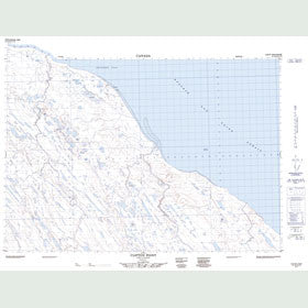 Canadian Topo Map - Clifton Point - Map 087C03