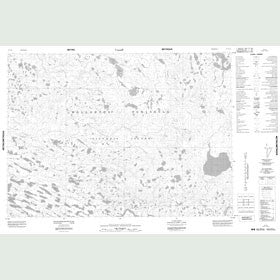 Canadian Topo Map - Map 087C16