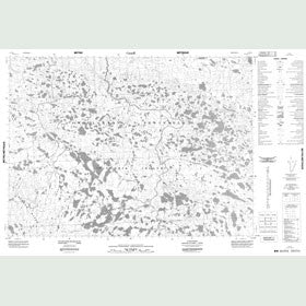 Canadian Topo Map - Map 087E02