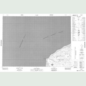 Canadian Topo Map - Cape Baring - Map 087F02