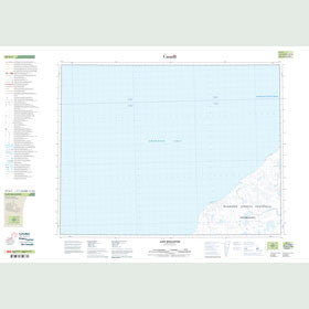 Canadian Topo Map - Cape Wollaston - Map 087G03