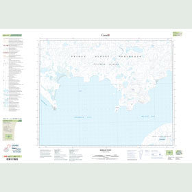 Canadian Topo Map - Berkeley Point - Map 087G11