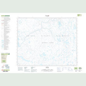 Canadian Topo Map - Ingaluaq - Map 087G16