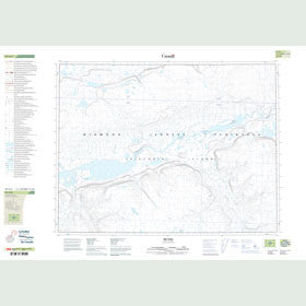 Canadian Topo Map - Map 087H04