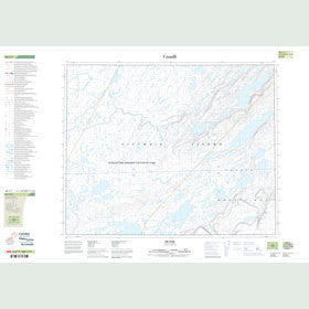 Canadian Topo Map - Map 088A01