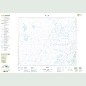 Canadian Topo Map - Map 088A08