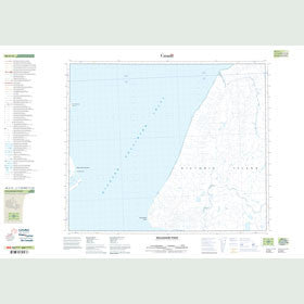 Canadian Topo Map - Willoughby Point - Map 088A15