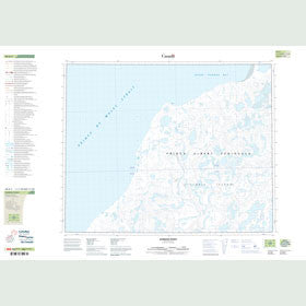 Canadian Topo Map - Gordon Point - Map 088B03