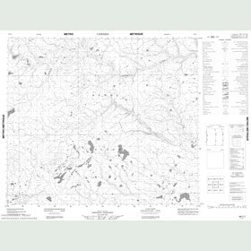 Canadian Topo Map - Map 088C07