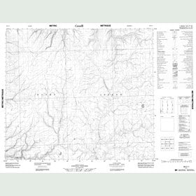 Canadian Topo Map - Map 088C11