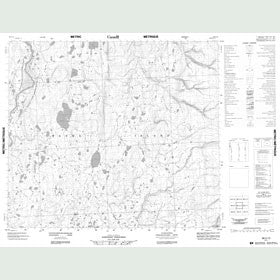Canadian Topo Map - Map 088C12