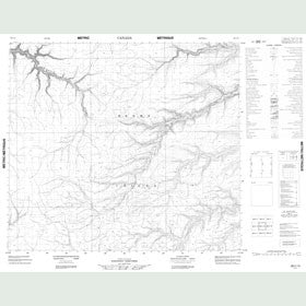 Canadian Topo Map - Map 088C15