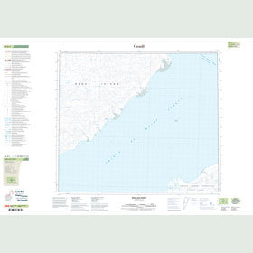 Canadian Topo Map - Wallace Point - Map 088D05