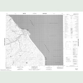 Canadian Topo Map - Parker Point - Map 088D12