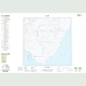 Canadian Topo Map - Hill of Barra - Map 088G11