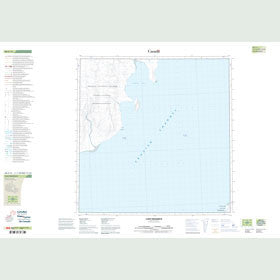 Canadian Topo Map - Cape Frederick - Map 088G13