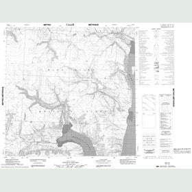 Canadian Topo Map - Map 088H06