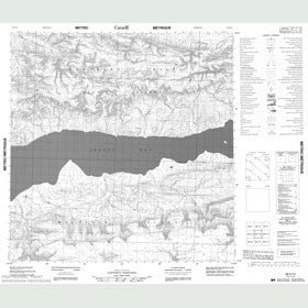 Canadian Topo Map - Map 088H13